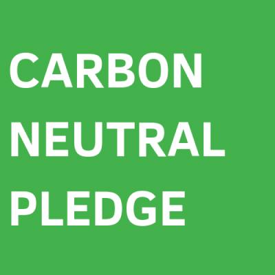 El logo de Carbon Nuetral Pledge